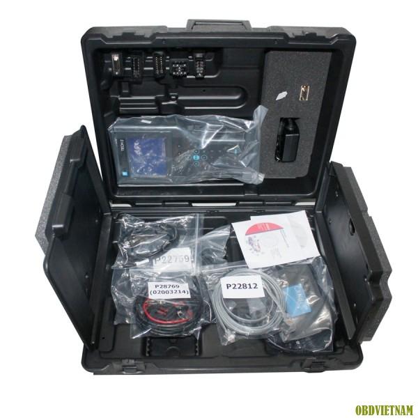 Thiết bị chẩn đoán chuyên dụng GM Tech II là máy chẩn đoán được phát bởi GM là công cụ tối ưu sử dụng công nghệ Vetronix 2 kèm theo phần mềm chính hãng sử dụng để chẩn đoán cho các dòng GM từ năm 1992 cho đến nay