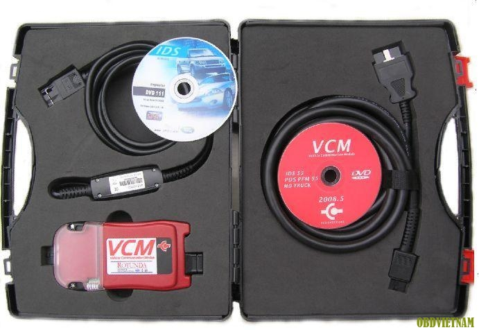 VCM IDS là một thiết bị hiệu năng cao, linh hoạt, kết nối với xe qua cổng giao tiếp nối tiếp.