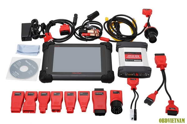 Máy chẩn đoán MaxiSYS® Pro gồm hộp tái lập trình J - 2534 và phần mềm MaxiSYS® Pro đặc biệt dành cho các nhà xưởng