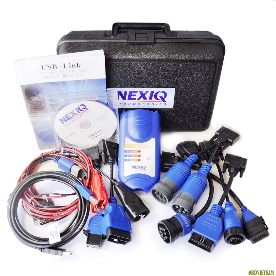 Máy chẩn đoán Nexiq USB LINK là 1 adapter giúp kết nối giữa Laptop (máy tính) với Hộp  ECM