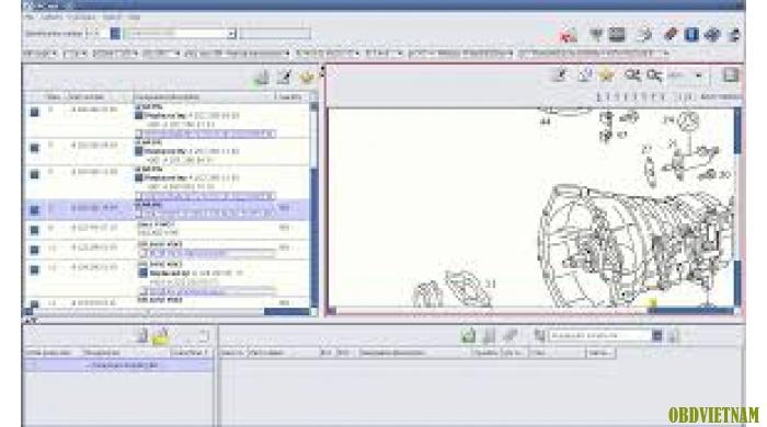 Phần mềm tra cứu phụ tùng  MERCEDES EPC