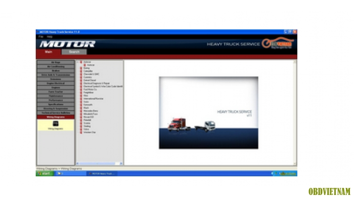 Phần mềm tra cứu MOTO HEAVY TRUCK
